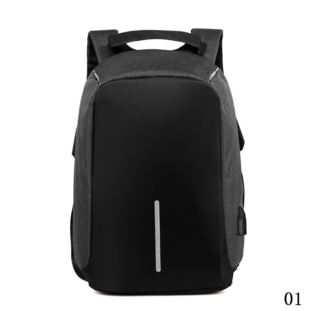 Waterproof Anti-Thief USB Charging External Laptop Travel School Backpack Bag