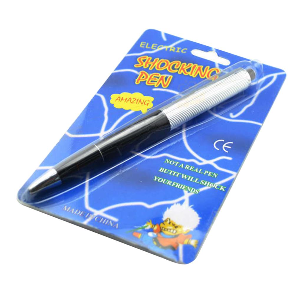 Electric Shock Ball Point Pen Shocking Gift Joke Prank Trick Utility Gadget Toys
