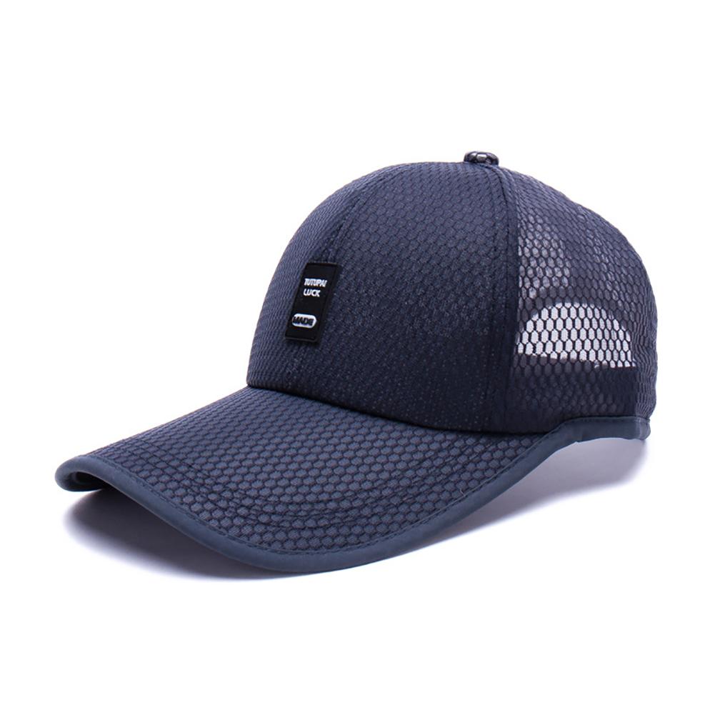 Trendy Outdoor Sun Baseball Hat Golf Mesh Breathable Cap For Men Women Adult Sports