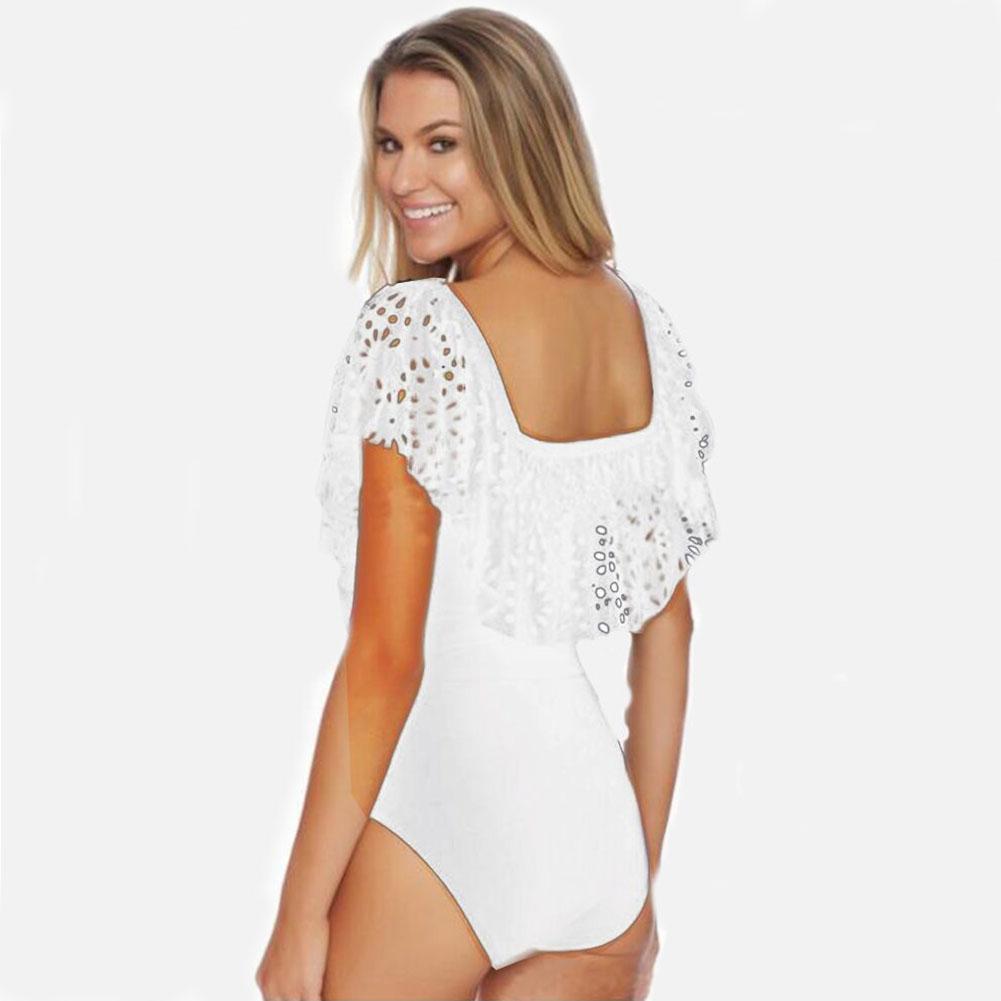 Sexy New Womens One-Piece Push Up Bikini Bandage Monokini Swimsuit Bathing Swimwear Padded Beachwear
