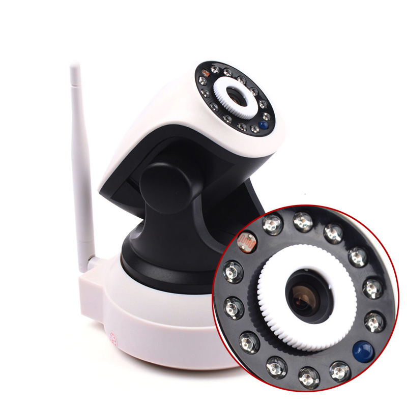 "5330-T 1/4"" 0.3 Megapixel P2P Wireless IP Camera CMOS LED Wifi"