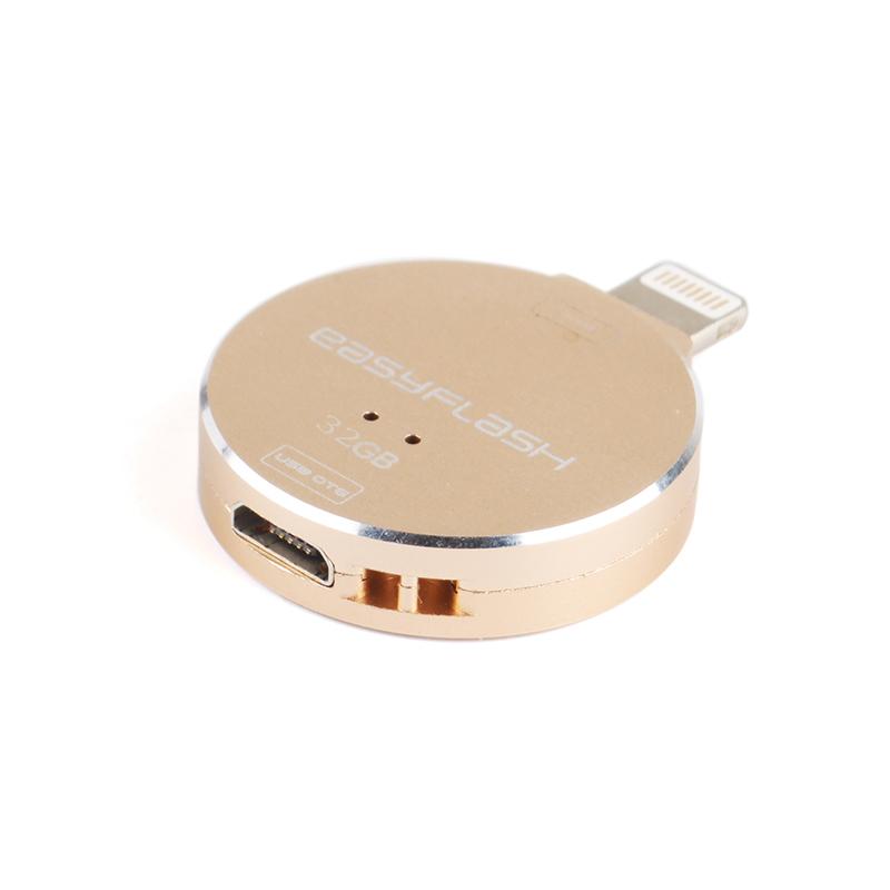 32G Mini Metal OTG USB i-Flash Drive 32GB Memory Stick for iphone ipad U disk