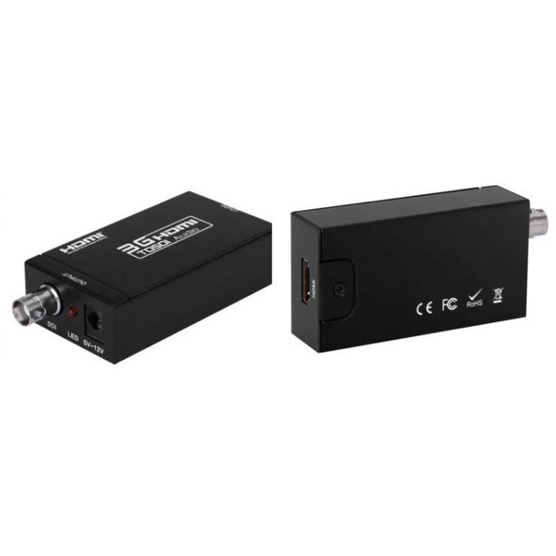 Mini 3G HDMI to SDI Converter 1080P BNC SDI/HD-SDI/3G-SDI 2.970 Gbit/s Adapter