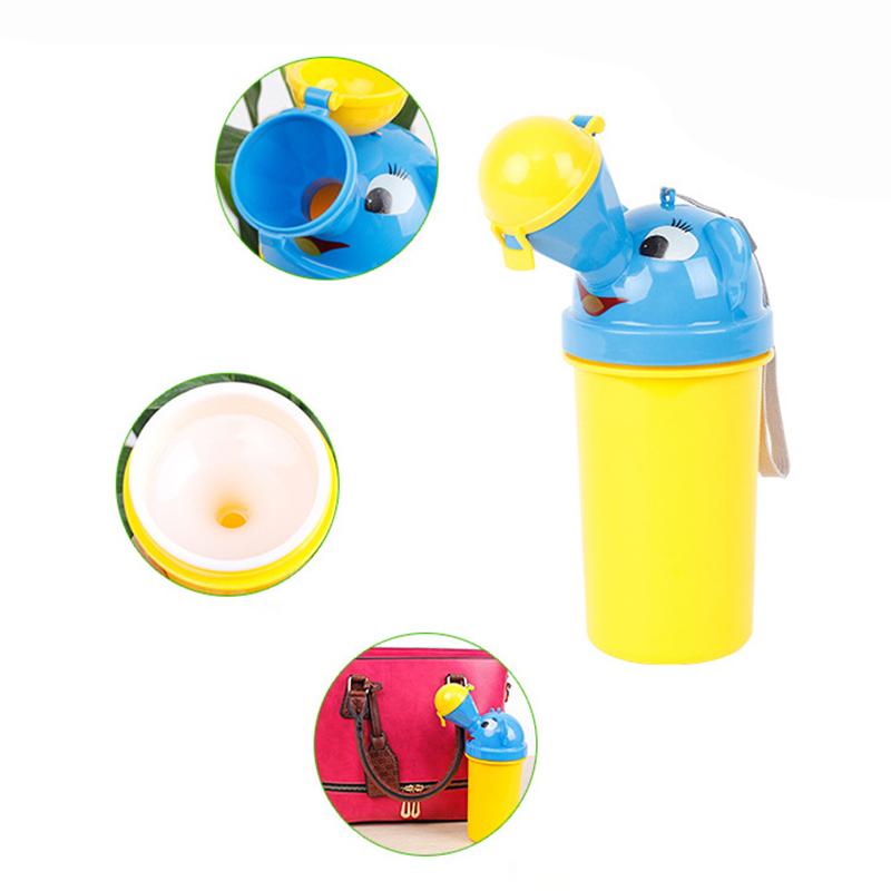 Baby Portable Toilet Infant Boys girls Kids Potty Home Travel Urinal Bag Car Urinal Bucket