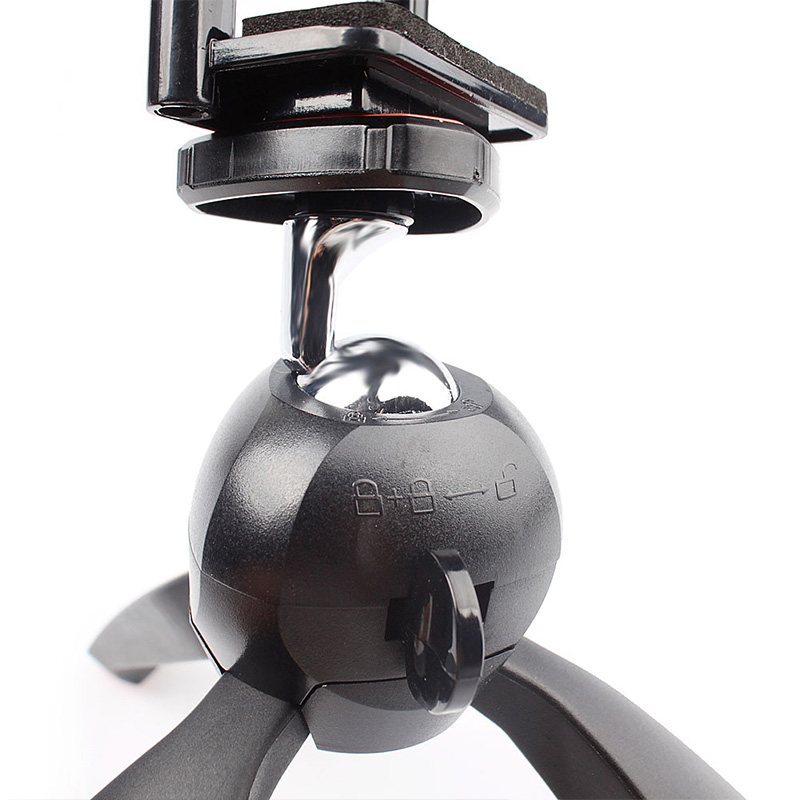 Vogue Mini Tripod Mount for Digital Camera Cell pone GoPro Hero 2 /3 / 3+ /4