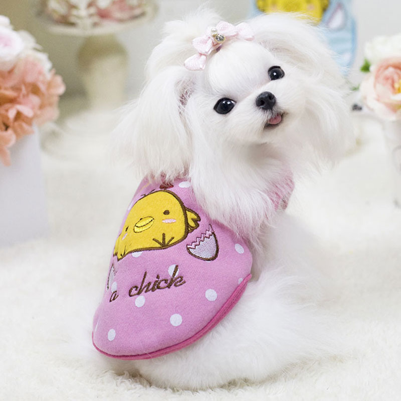 Vogue Pet Clothes Puppy Small Dog Thick Vest T Shirt Coat Apparel Costumes 4#