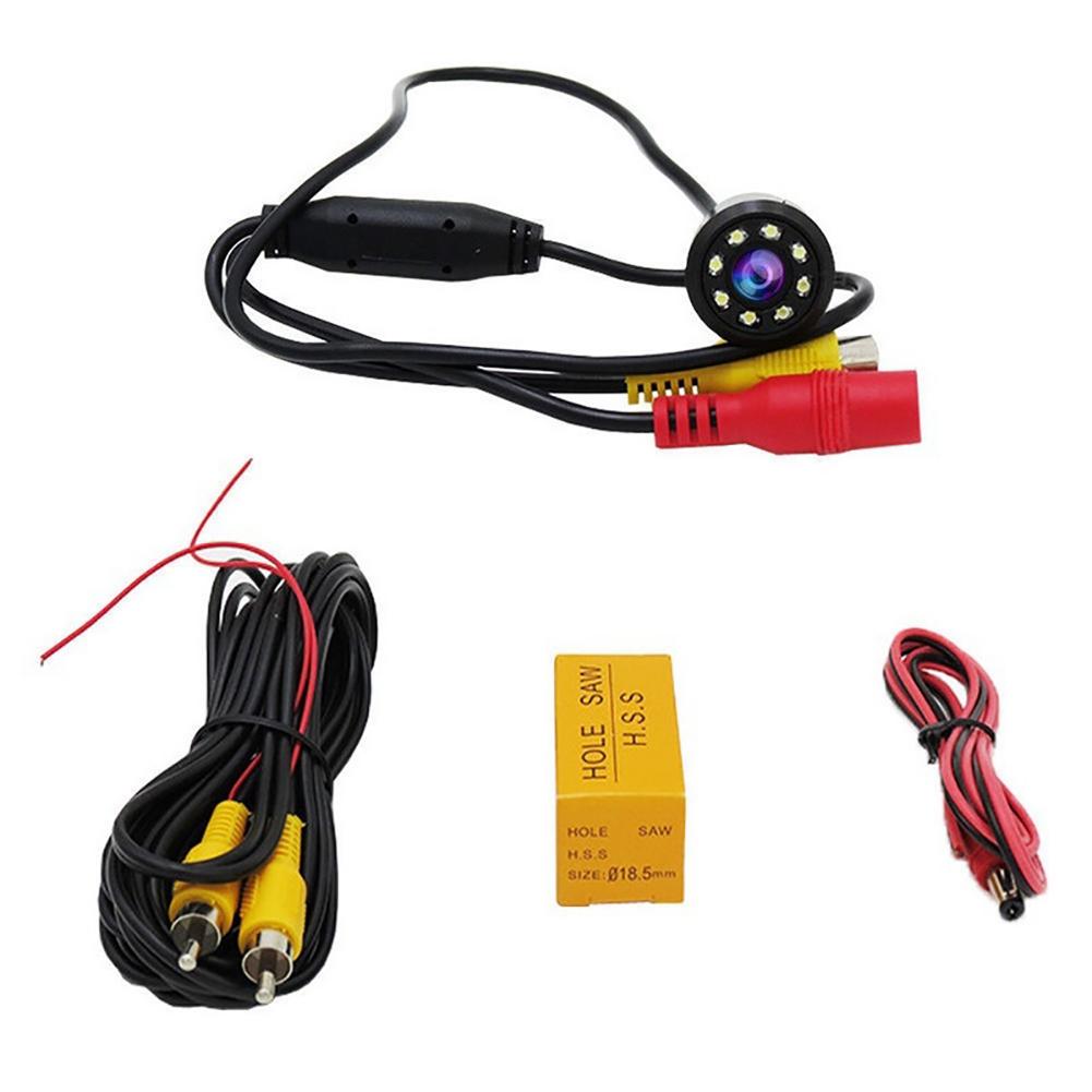 Car 8 LED Backup Rear View Reverse Parking HD Camera Waterproof Night Vision