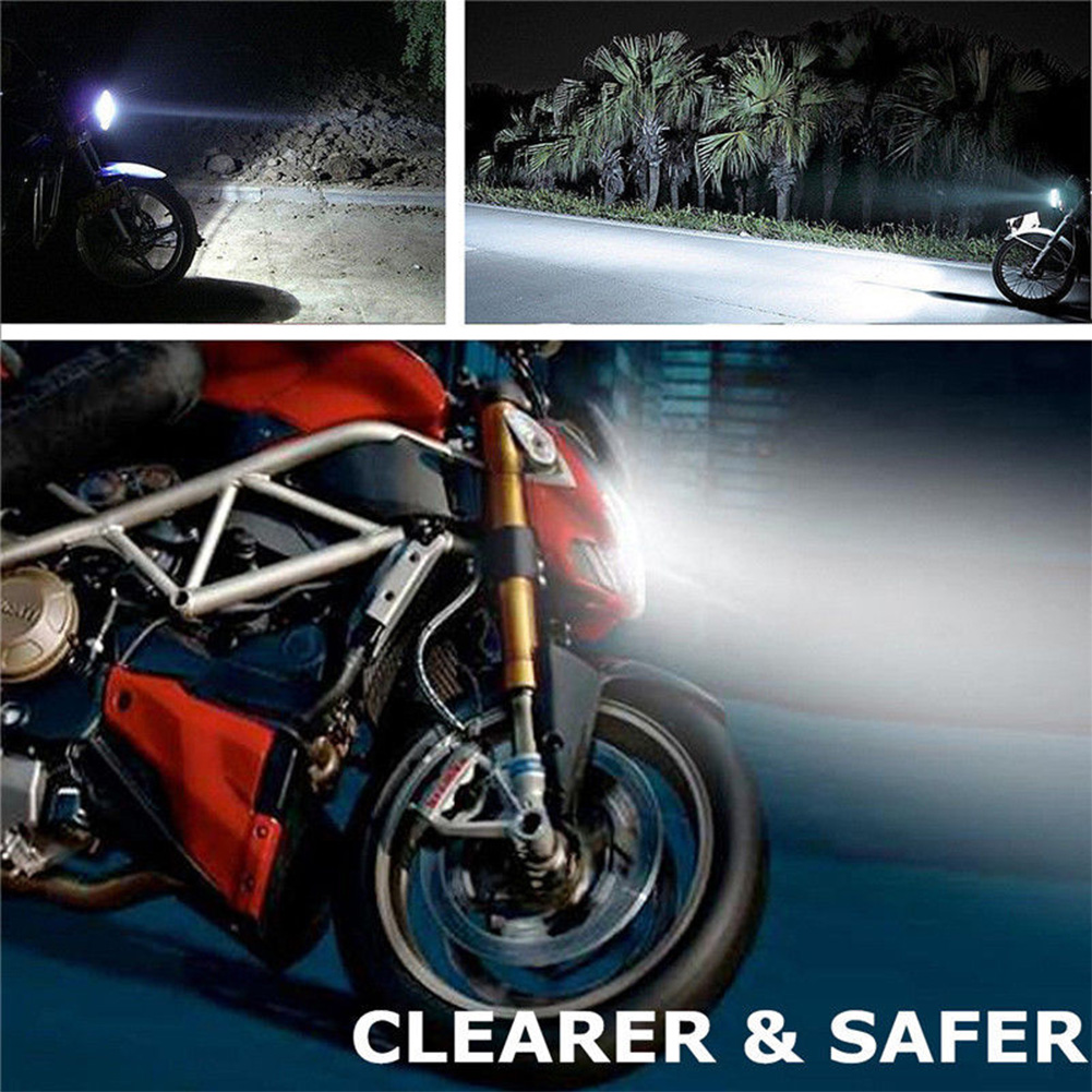 H4/H7 Car 3030 LED Hi-Lo Beam Headlight Head Light Lamp Bulb 6500K 12-24v Motorcycle