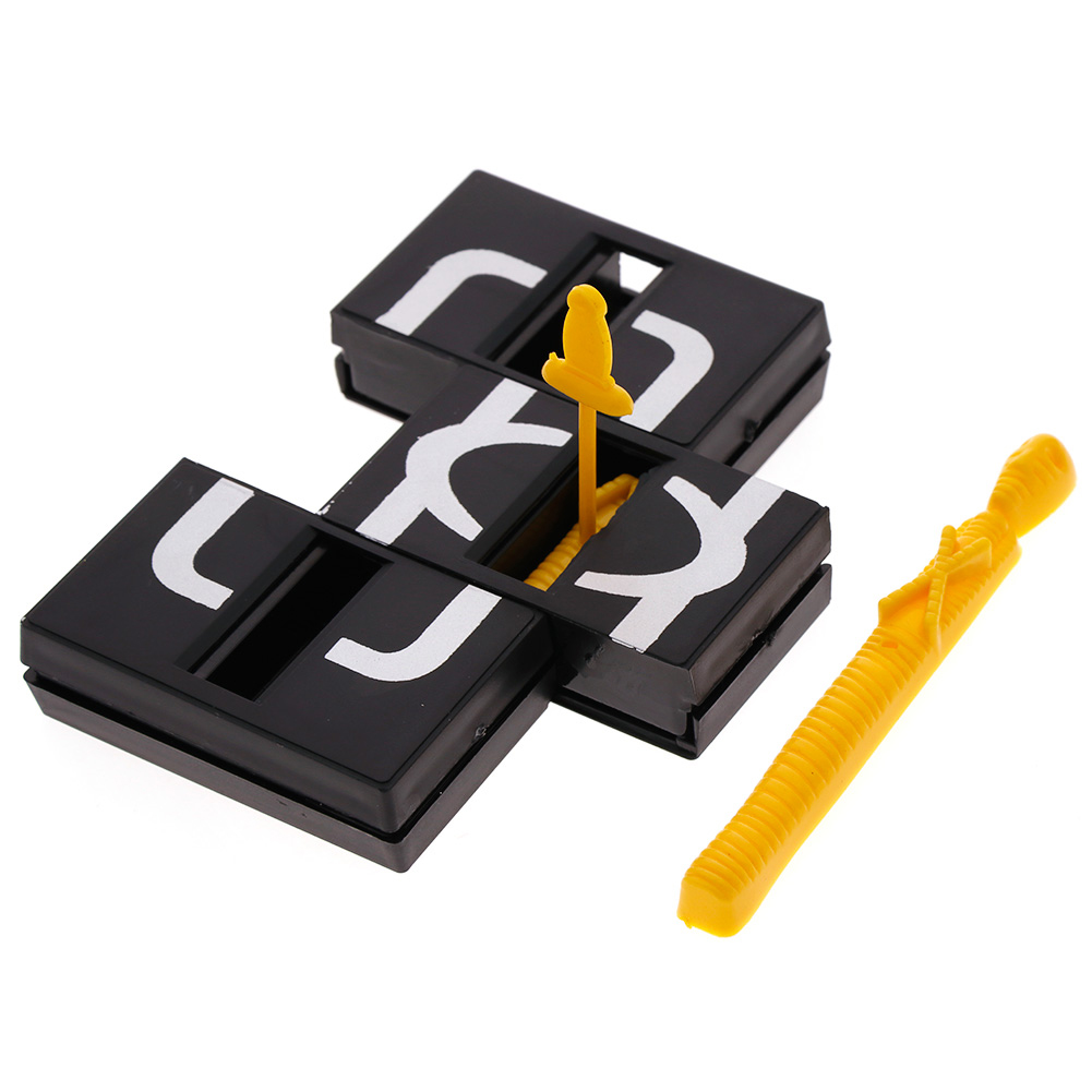 Amazing Magic Zigzag Box Close up Crown Magic Props Show Toys