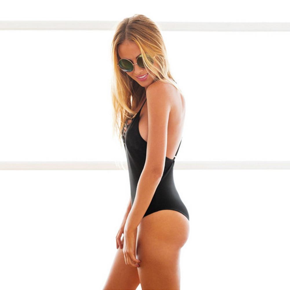Fashion Sexy Women's Bikini Bathing Swimwear One Piece Swimsuit Monokini Push Up Padded