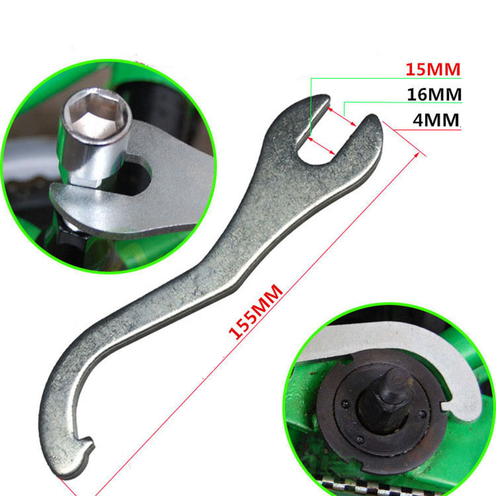 Bicycle Wrench Repair Tool Remover Bottom Bracket Pedal Spanner