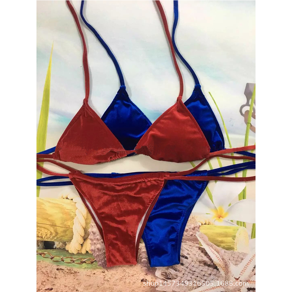 Fashion Sexy Women Bikini Push-up Set Padded Bandage Swimsuit Beachwear Bathing Swimwear