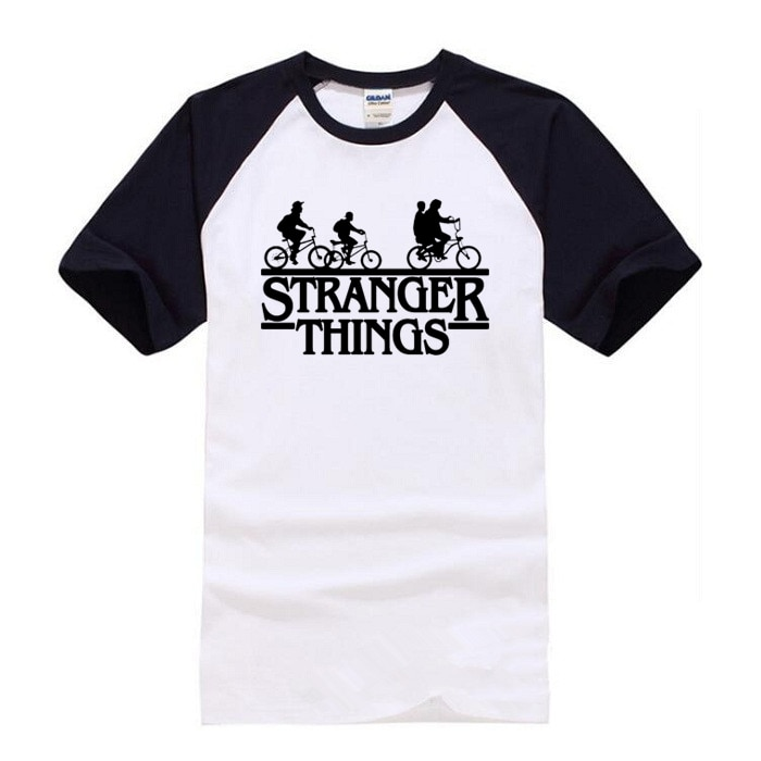 New 2018 Stranger Things t shirt Women/Men Short Sleeve Cotton Shirt Man Fashion Tops Tees Men's summer Hip-hop T-shirt