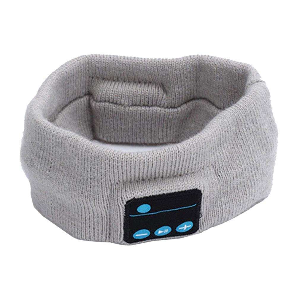 Men's Wireless Bluetooth Stereo Headphone Sleep Headset Sports Headband Mic