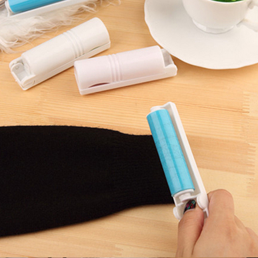 Washable Roller Cleaner Sticky Hair Wool Dust Catcher Drum Lint Remover
