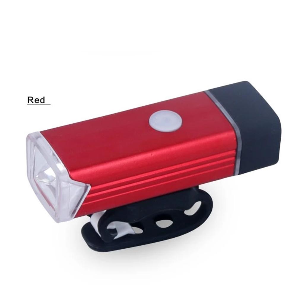 Bicycle Front Light USB Rechargeable High Power LED Head Lamp Handlebar Lighting Lantern Bike Cycling Flashlight 1200mAH