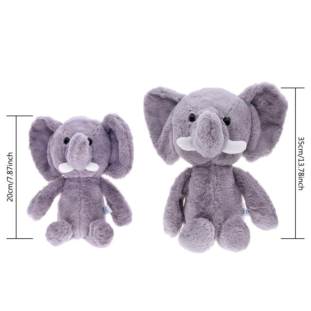35cm Cute Elephant Soft Plush Toy Stuffed Kids Gift Animals Doll