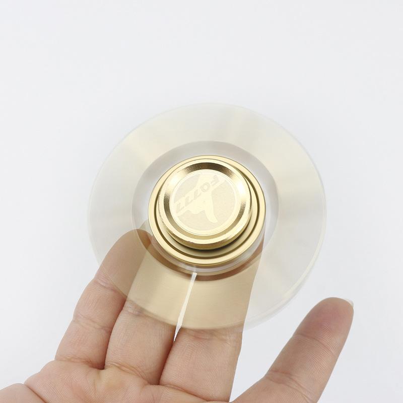New Design Six Sides Copper Hand Spinner EDC ADHD Fidget Steel Ball Desk Toys