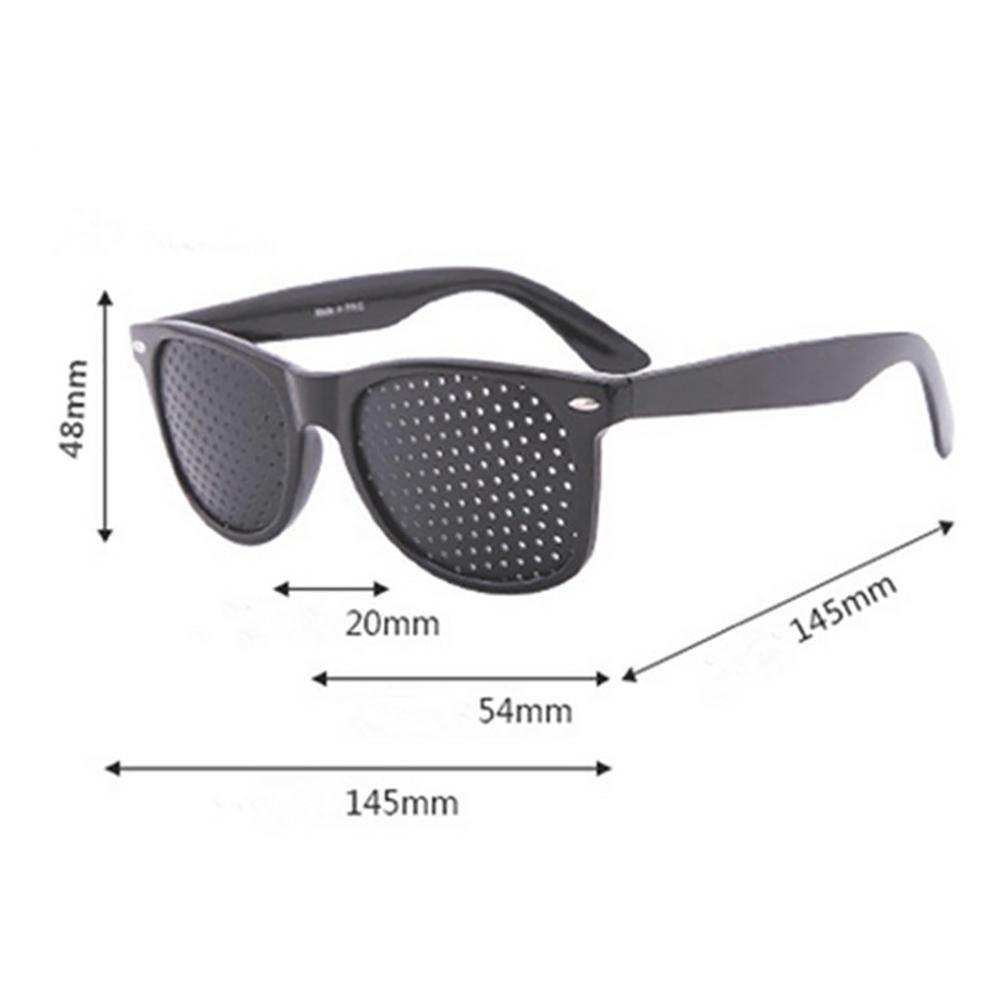 Anti-myopia Pinhole Glasses Pin Hole Sunglasses Eye