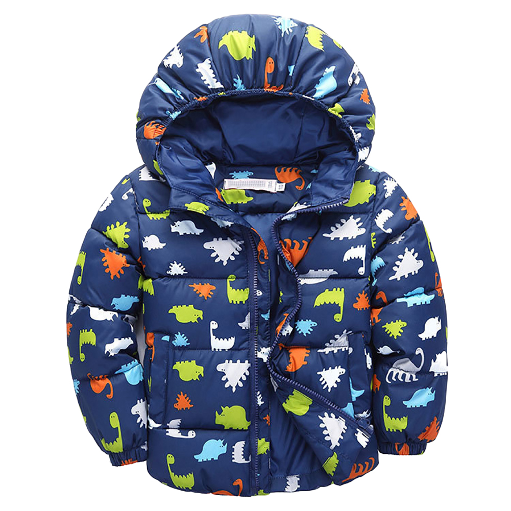 Cute Dinosaur Fall Kids Jacket Baby Boys Long Sleeve Toddler Outerwear jacket coat