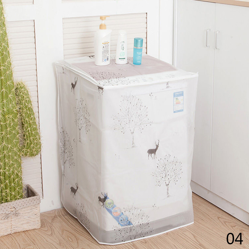 Trendy Washing Machine Dust Cover Protection Durable Washer/Dryer Cover