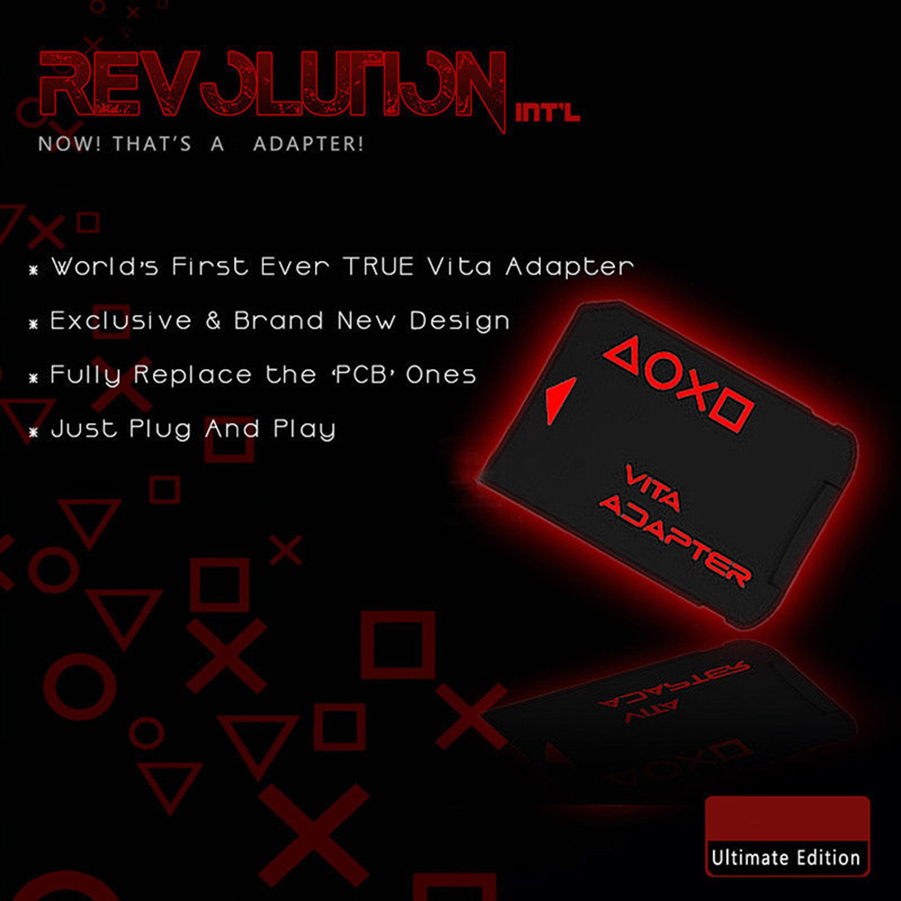 SD2Vita Version 3.0 For PSVita Game Card to Micro SD Card Adapter for PS Vita 1000 2000