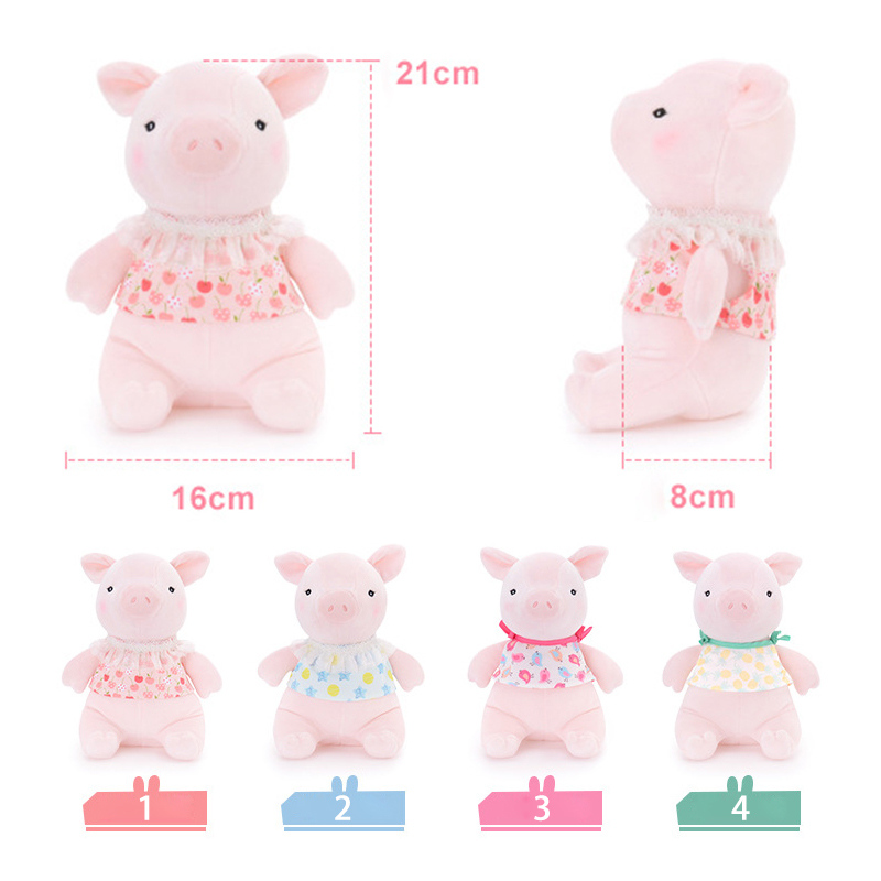 8Inch Lovely Plush Toy Cute Pig Baby Stuffed Doll Metoo Birthday Gift