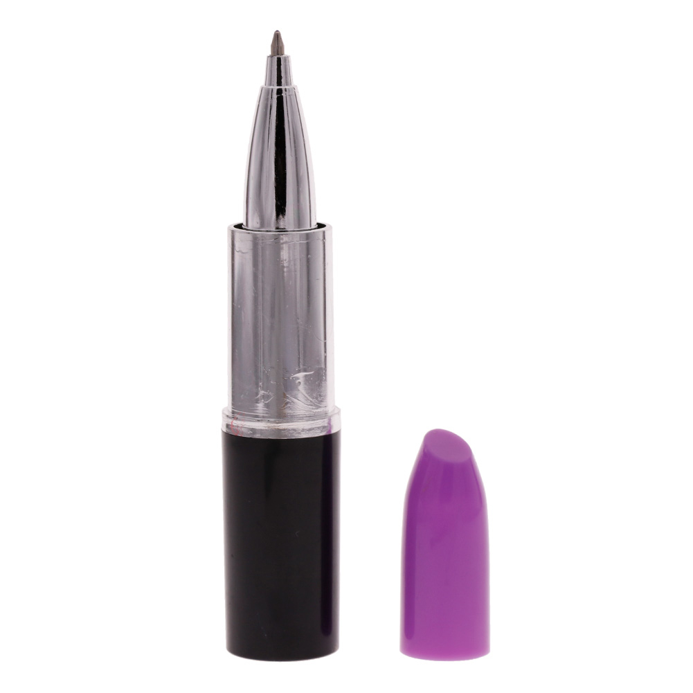 Creative Lipstick Ball Point Ballpoint Pen Office Stationery Writing Pens