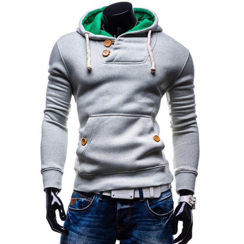 Men's jacket men s Jackets warm hoodie cotton coat Men hood jacket