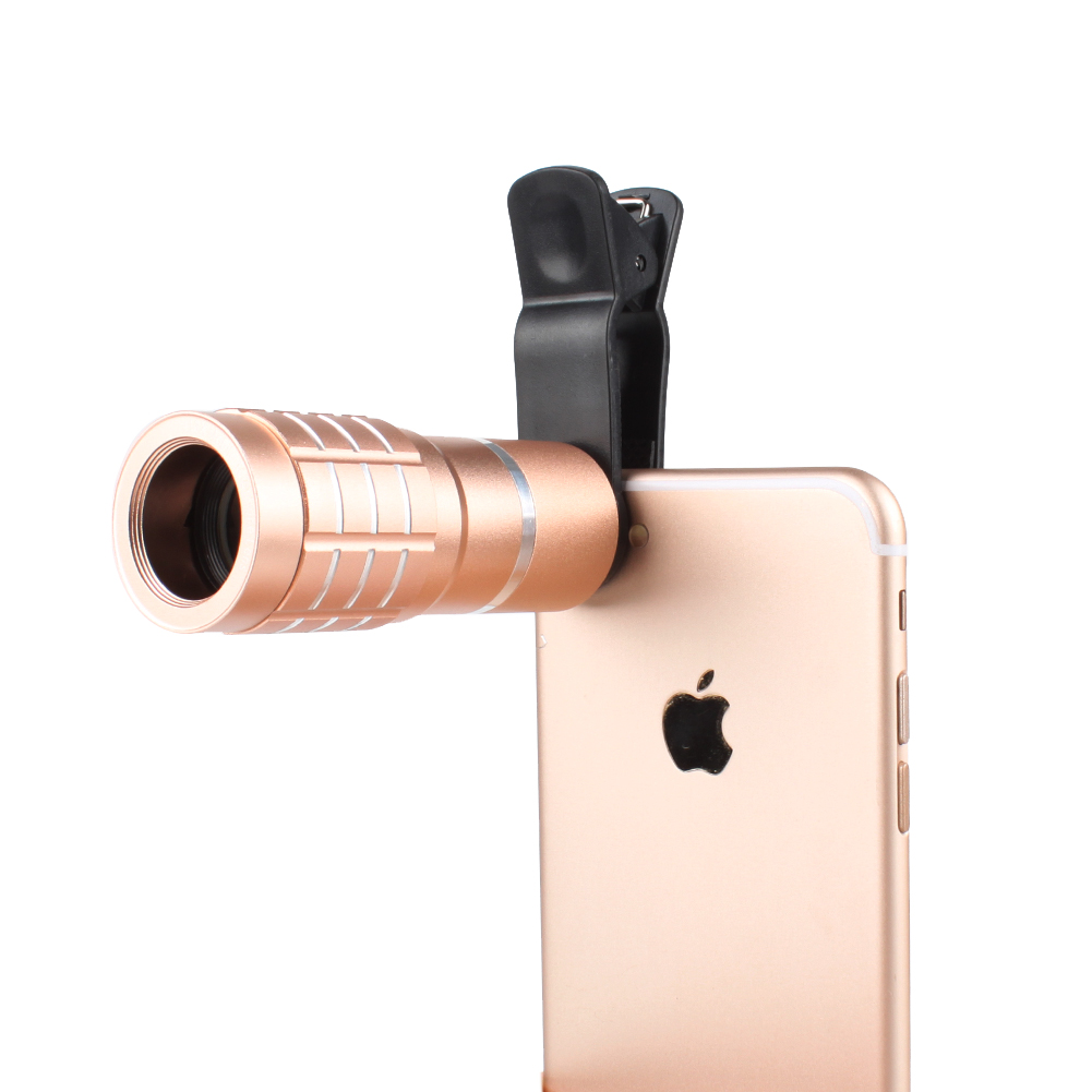 0.36X Super Wide Angle Lens + 15X Macro Camera Lens + Fish Eye Lens 195° w/ Clip For iPhone Samsung