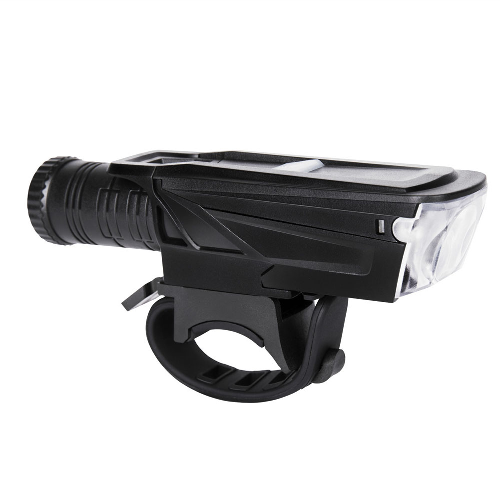 USB Rechargeable Bicycle Lamp Waterproof 3W Bike Flashlight Torch Light Cycling Accessory