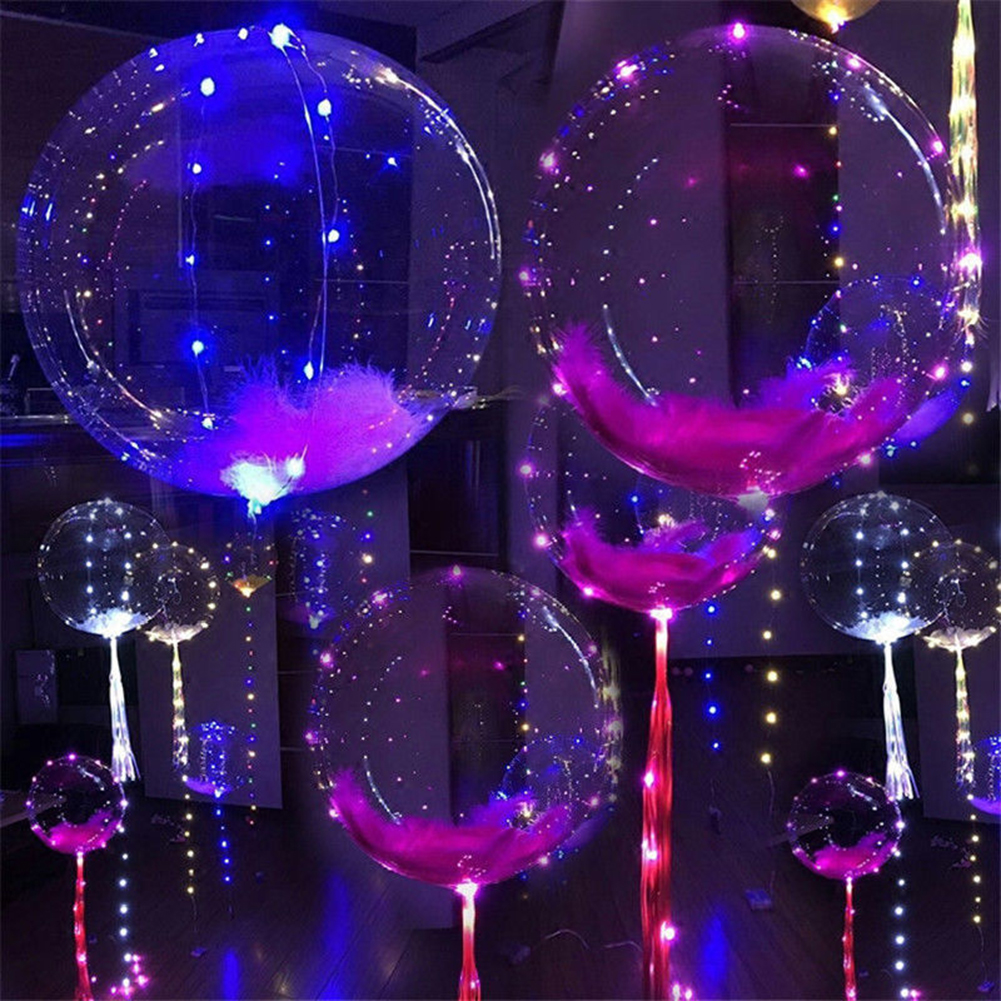 Colorful LED String Balloon Fairy Light Wedding Christmas Party Festival Decor