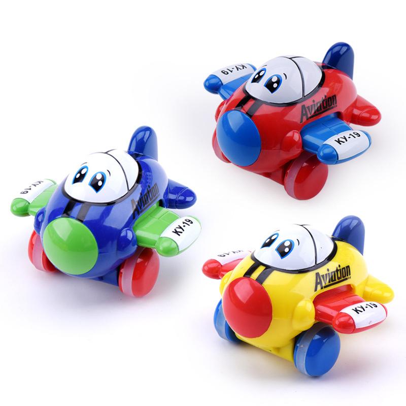 Children Classic Toys Airplane Action Digital Gliding Random Color Child