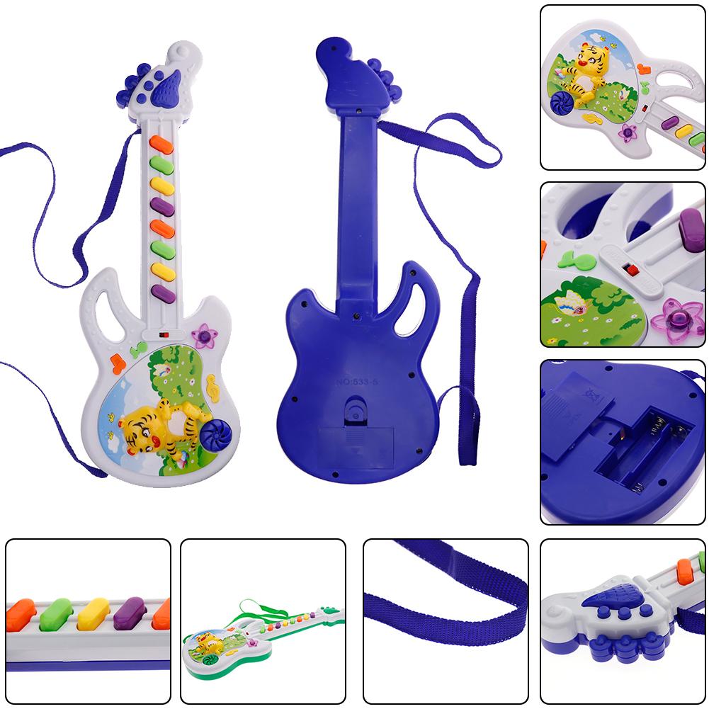 Children Toy Animal Electric Guitar Instrument Development Music Toys