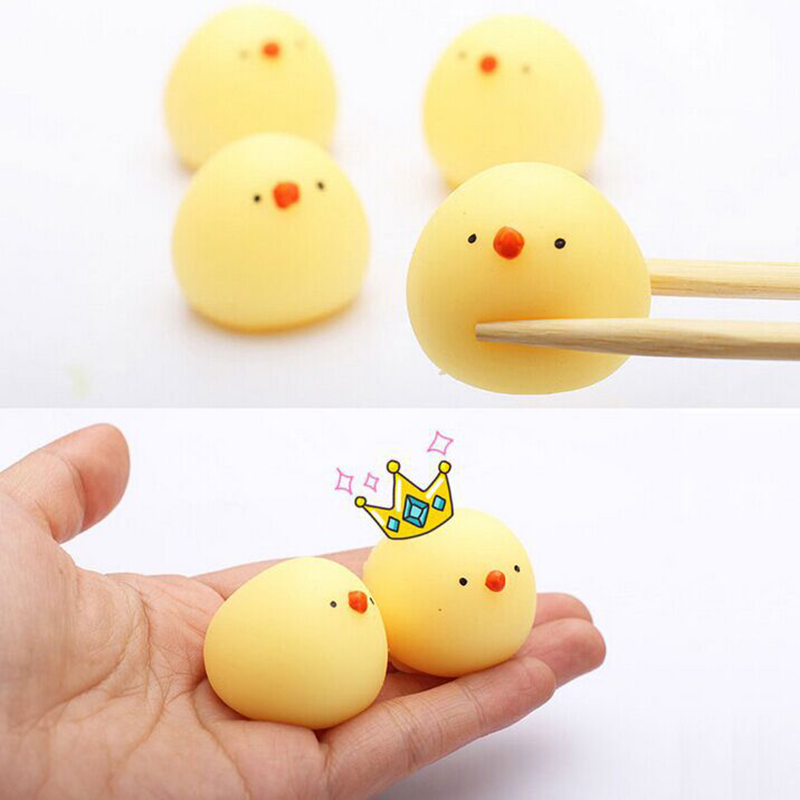 Squishy Soft Toys Slow Rising Simulation Cute Animal Pat Chicken Hand Toy