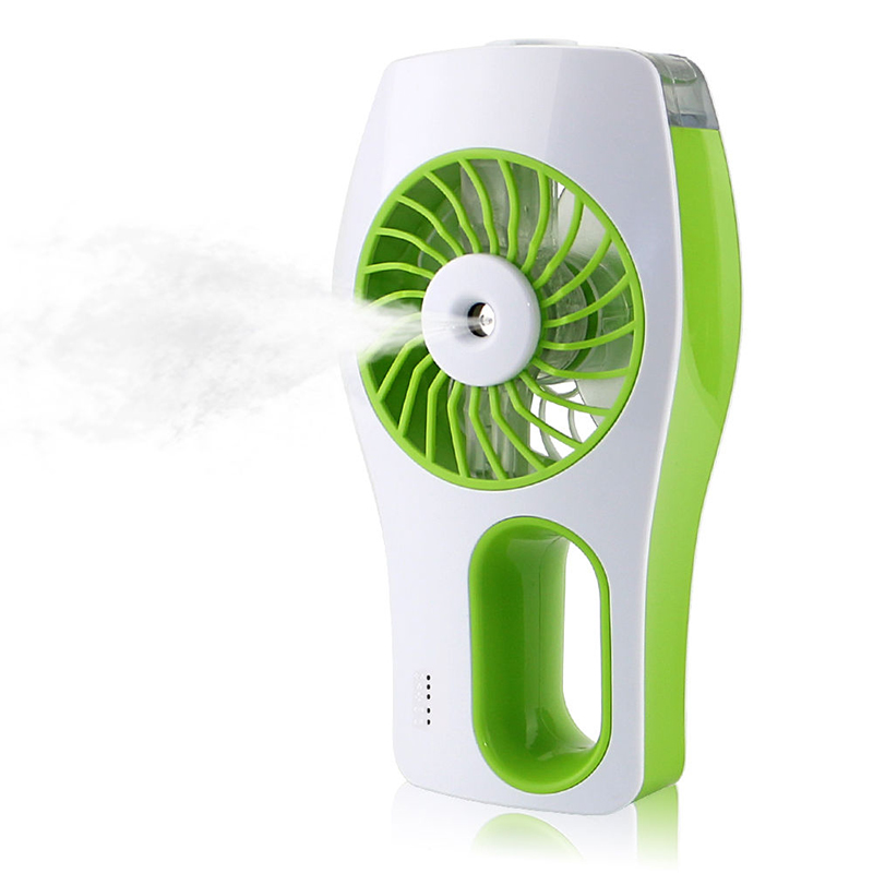 Mini Portable Handheld USB Rechargeable Cooling Hydrating Humidifier Fan