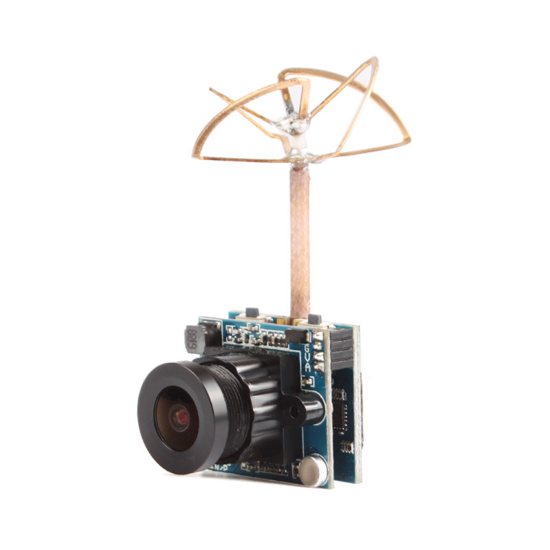 HRS270T 5.8G FM Wireless 200mW 48CH AV VTX HD 600TVL Video Camera Build-in Mic For FPV Drone