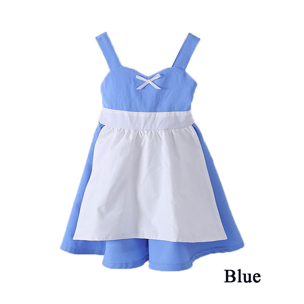 Baby girl fashion princess toddler infant cute dot bow dress children clothes
