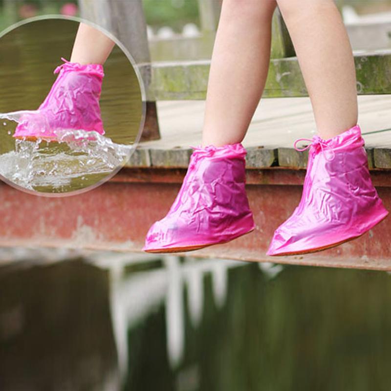 Bottom Women Waterproof Galoshes Boots Eco-Friendly Slippery Wear-resisting