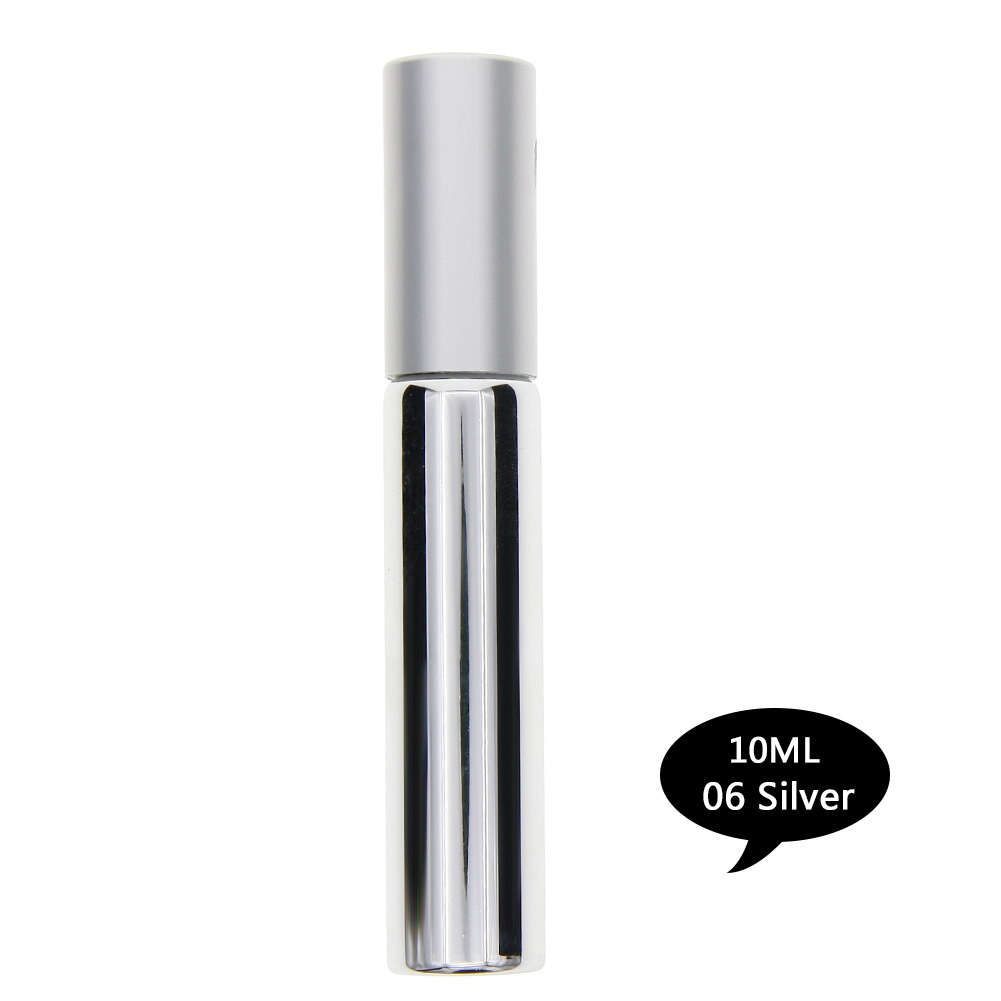 10ml Mini Travel Portable Refillable Roll On Perfume Sample Bottle Empty Cosmetic Containers