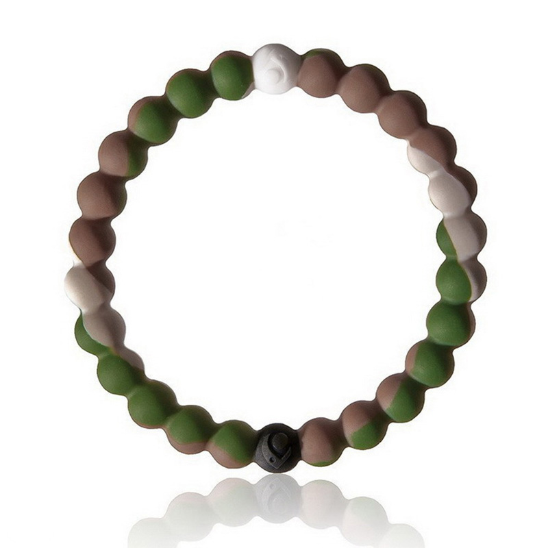 New Bracelet Mud from Dead Sea Water From MT Everest Silicone Size S/M/L/XL
