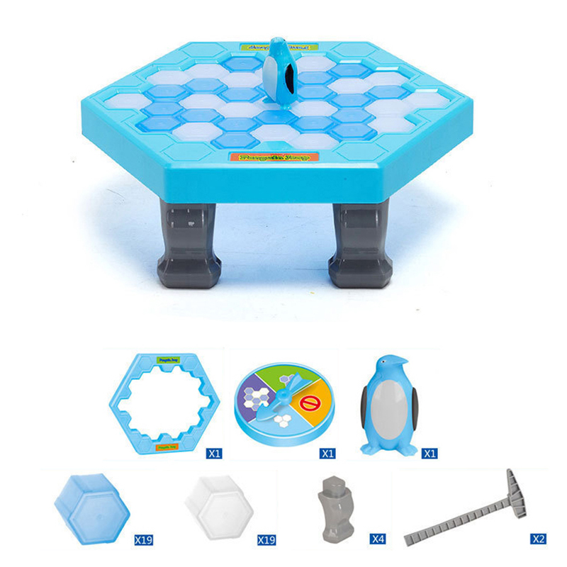 Penguin Ice Breaking Save The Penguin Great Family Toys Gifts Desktop Game