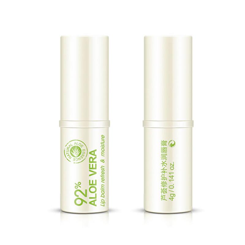BIOAQUA Lip Balm Skin Care Hyaluronic acid Pure Natural Aloe Vera Lipblam Lipsticks Moisturizing Long-lasting Lip Stick