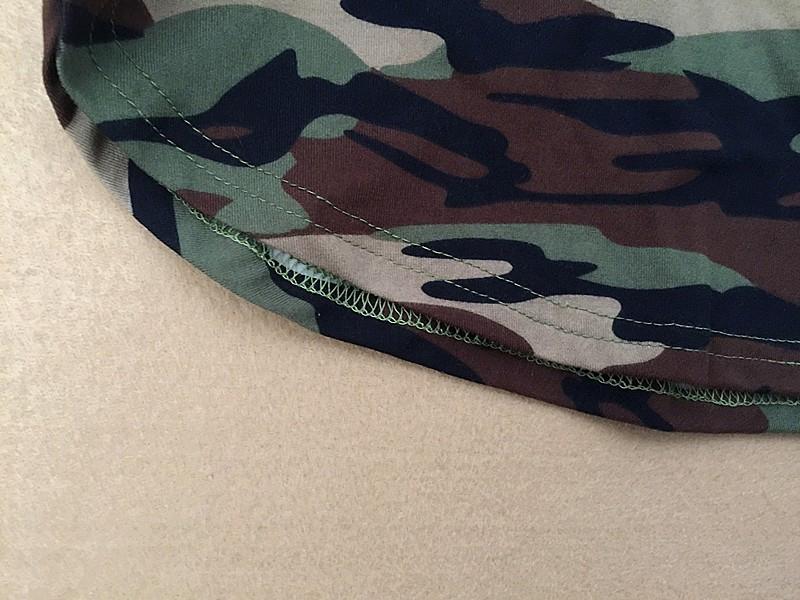 Women Summer Army Green Short Sleeve Sexy Mini Dresses Camouflage Print Plus Size Vestidos