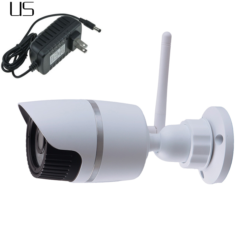 HD 720P IP Camera 1.0 Megapixel Outdoor WiFi Wireless CCTV Security Network White