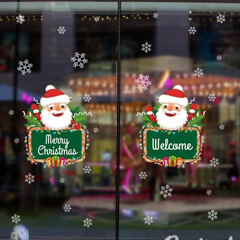 Christmas Snowflake Window Wall Door Decal Wall Sticker Xmas Decor