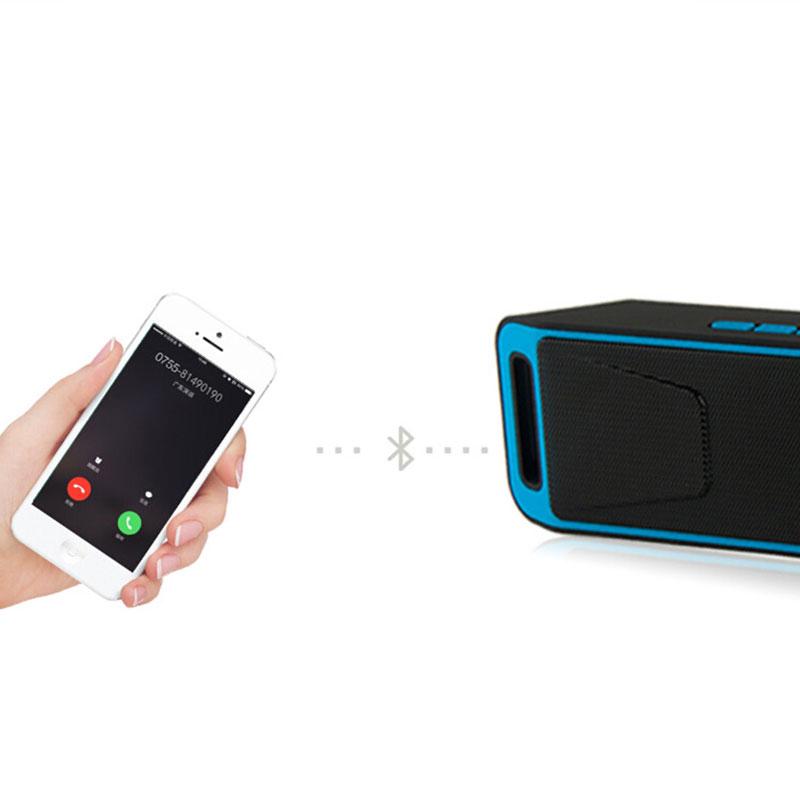 SC208 Bluetooth 4.0 Speaker Wireless Full range Stereo Sound HIFI Portable