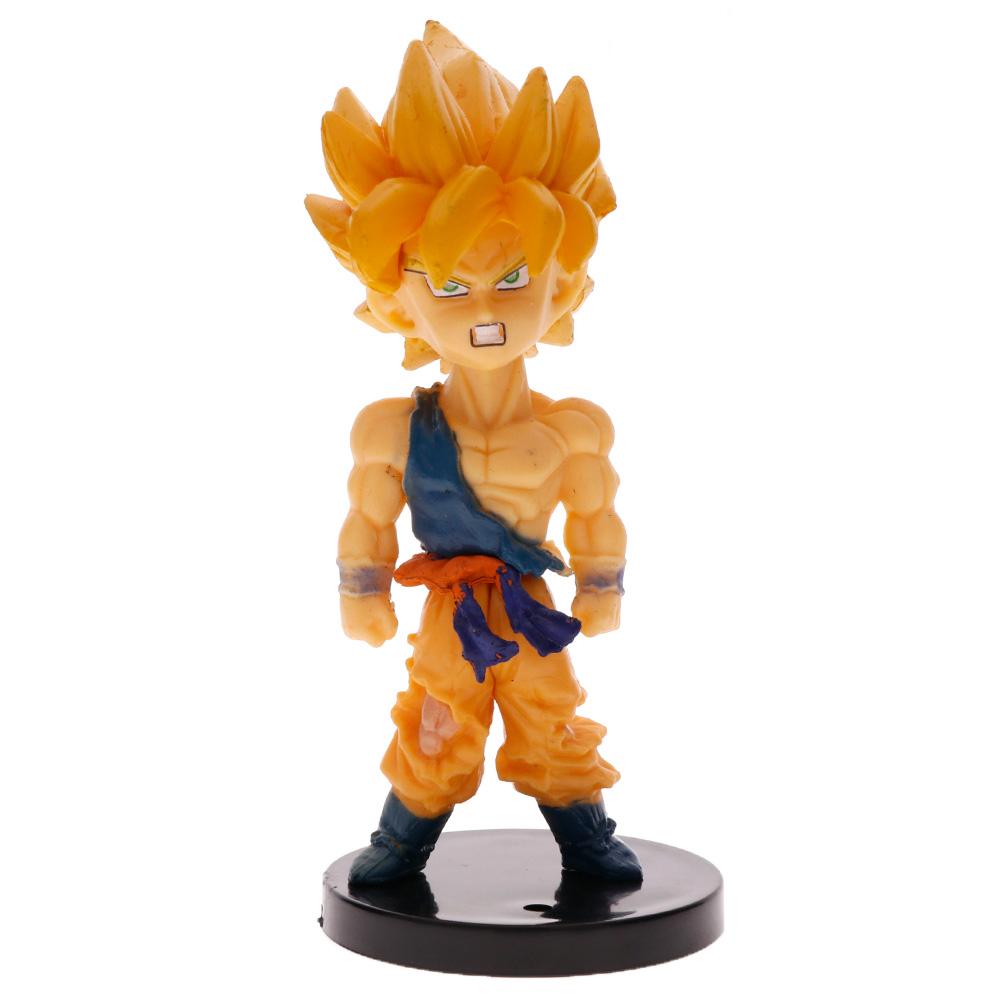 10PCS Dragon Ball Dolls Vegeta Beerus Son Goku Frieza Saiyan Figurine Set