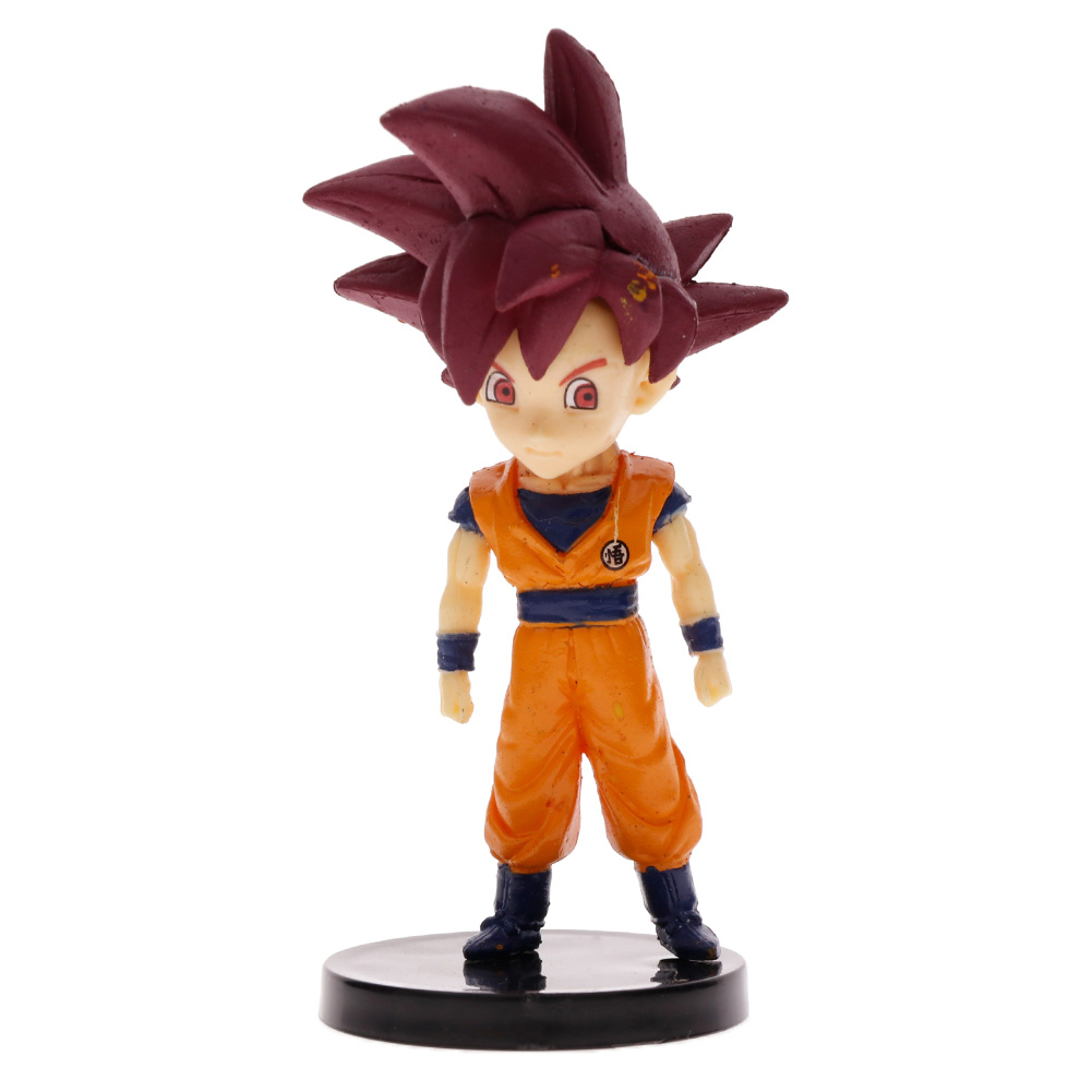 10PCS Dragon Ball Dolls Vegeta Beerus Son Goku Frieza Saiyan Figurine Set