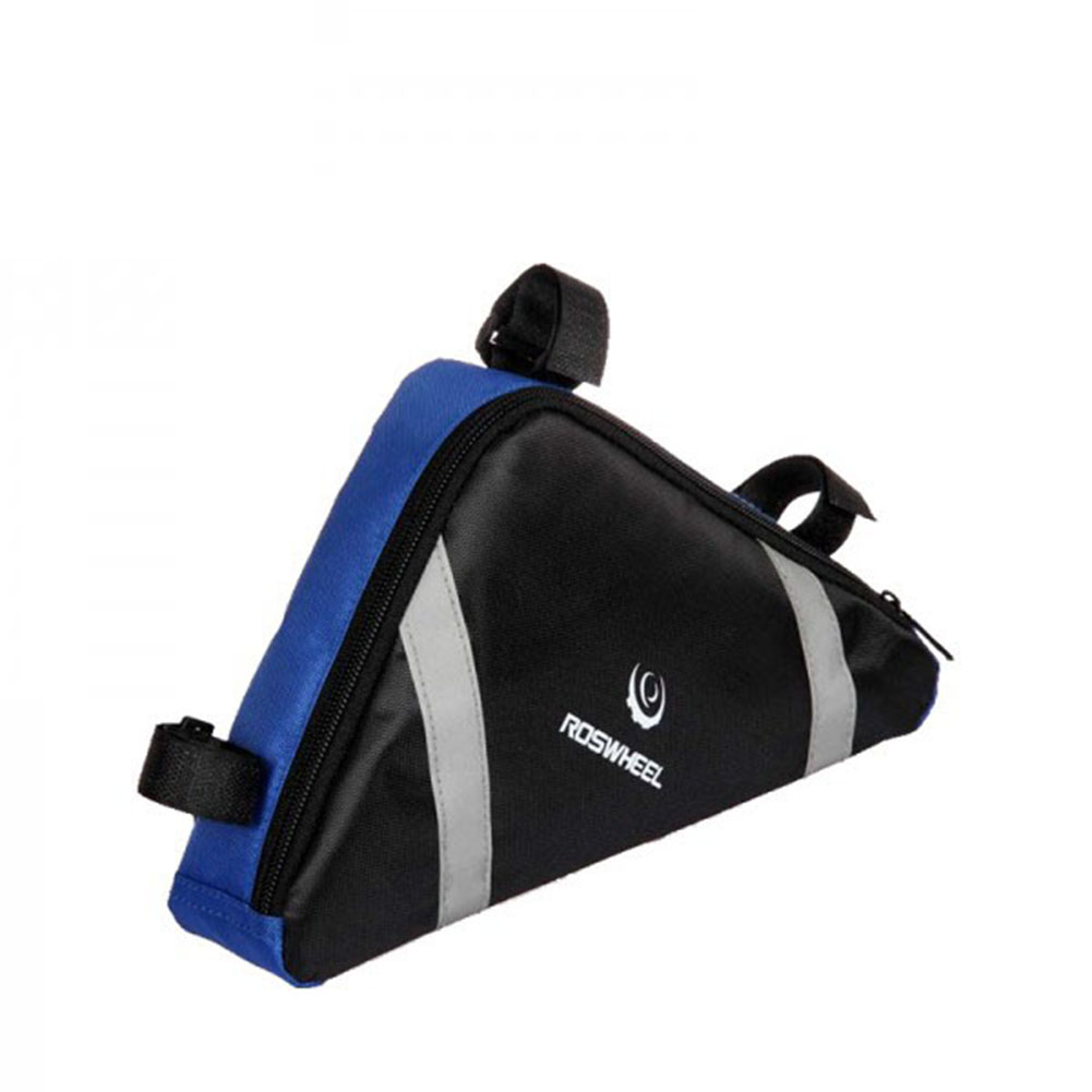 Cycling Bicycle Tube Triangle Bag Outdoor Bike PVC Front Saddle Frame Pouch